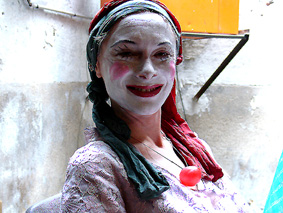 clown gestalt - portrait
